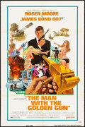 "Movie Posters:James Bond, The Man with the Golden Gun (United Artists, 1974). One Sheet (27"" X 41""). Advance, Artwork by Robert McGinnis. James Bond...."