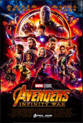"Movie Posters:Action, Avengers: Infinity War (Walt Disney Pictures, 2018). International One Sheet (27"" X 40"") DS Advance. Action.. ..."
