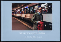 """Night Train to Lisbon (CineBook, 2013). Autographed CineBook (26 pages, Book: 11.25"""" X 7.5"""", Hardcover Case: 1..."""