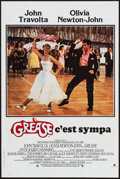 Movie Posters:Musical, Grease (CIC, 1978). Folded, Very Fine+. French Pet...