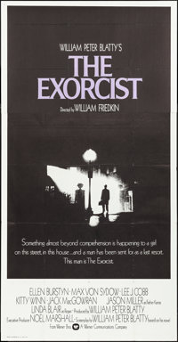 "The Exorcist (Warner Brothers, 1974). Three Sheet (41"" X 79""). Horror"