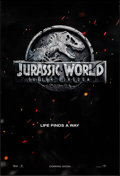 "Movie Posters:Action, Jurassic World: Fallen Kingdom (Universal, 2018). One Sheet (27"" X40"") DS Teaser. Action.. ..."