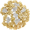 Estate Jewelry:Brooches - Pins, Diamond, Platinum, Gold Brooch, Marianne Ostier . ...