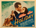 """Movie Posters:Comedy, Holiday (Columbia, 1938). Half Sheet (22"""" X 28"""") Style A.. ..."""