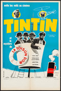 """Movie Posters:Foreign, Tintin and the Mystery of the Golden Fleece (Pathé, 1961). French Petite (15.75"""" X 23.75"""") Vanni Tealdi Artwork. Foreign.. ..."""