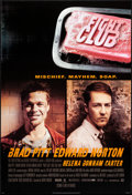 "Movie Posters:Action, Fight Club (20th Century Fox, 1999). One Sheet (27"" X 40"") DSAdvance, Style A. Action.. ..."
