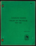 """Movie Posters:Exploitation, Jacqueline Susann's Valley of the Dolls (20th Century Fox, 1981).Final Script (109 Pages, 8.5"""" X 11""""). Exploitation.. ..."""