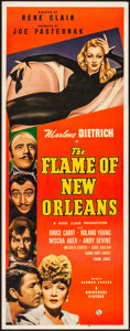 "Movie Posters:Romance, The Flame of New Orleans (Universal, 1941). Fine+ on Paper. Insert (14"" X 36""). Romance.. ..."