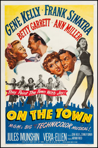 "On the Town (MGM, 1949). One Sheet (27"" X 41""). Musical"