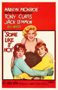"""Movie Posters:Comedy, Some Like It Hot (United Artists, 1959). One Sheet (27"""" X 41"""").. ..."""