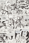 Original Comic Art:Panel Pages, Jack Kirby and Vince Colletta Thor #154 Story Page 12Original Art (Marvel, 1968)....