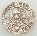 Ancients:Byzantine, Ancients: Basil II Bulgaroctonos (AD 976-1025), with ConstantineVIII. AR miliaresion (24mm, 1.57 gm, 6h). NGC (photo-certificate)XF 4/...
