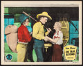 "Movie Posters:Western, The Trail Beyond (Monogram, 1934). Lobby Card (11"" X 14"").Western.. ..."