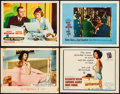 """Movie Posters:Horror, What Ever Happened to Baby Jane? & Other Lot (Warner Brothers, 1962). Lobby Cards (3) & Title Lobby Card (11"""" X 14""""). Horror... (Total: 4 Items)"""