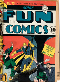 More Fun Comics #68, 69, 72, and 73 Key First Appearances Bound Volume (DC, 1941)