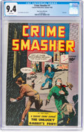 Golden Age (1938-1955):Crime, Crime Smasher #1 Mile High Pedigree (Fawcett Publications, 1948) CGC NM 9.4 White pages....