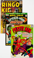 Bronze Age (1970-1979):Miscellaneous, DC/Marvel Silver-Modern Age Group of 13 (DC/Marvel, 1957-82)Condition: Average VG.... (Total: 13 )