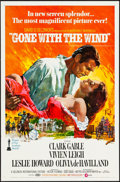 "Movie Posters:Academy Award Winners, Gone with the Wind (MGM, R-1974). One Sheet (27"" X 41""). HowardTerpning Artwork. Academy Award Winners.. ..."
