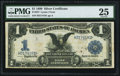 Large Size:Silver Certificates, Fr. 227 $1 1899 Silver Certificate PMG Very Fine 25.. ...