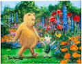 Animation Art:Seriograph, Pooh and Piglet in the Garden Peter Ellenshaw LimitedEdition Giclee #13/30 (Walt Disney, c. 1990s-2000s)....