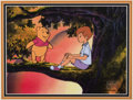 Animation Art:Production Cel, Pooh's Grand Adventure: The Search for Christopher RobinProduction Cel (Walt Disney, 1997)....