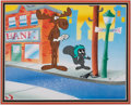 Animation Art:Limited Edition Cel, The Adventures of Rocky and Bullwinkle Movie 1 of 1 Cel (Universal Studios/Jay Ward, 2000)....
