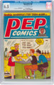 Pep Comics #66 (MLJ, 1948) CGC FN+ 6.5 Off-white to white pages