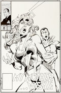 Original Comic Art:Covers, John Byrne Namor, the Sub-Mariner #20 Cover Namora/NamoritaOriginal Art (Marvel, 1991)....