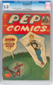 Pep Comics #45 (MLJ, 1944) CGC VG/FN 5.0 Off-white to white pages