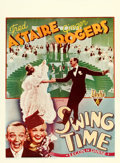 "Movie Posters:Musical, Swing Time (RKO, 1936). Pre-War Belgian (24"" X 33.5"").. ..."