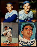 Autographs:Photos, Sandy Koufax Signed Photograph Lot of 4.. ...
