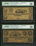 Obsoletes By State:Kentucky, Northern Bank of Kentucky Counterfeit $1s Two Examples.. ... (Total: 2 notes)