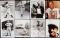 Autographs:Photos, Negro League Hall of Famer Signed Photograph Lot of 20 with Bell, Johnson, & Leonard.. ...