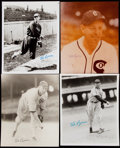 Autographs:Photos, Ted Lyons Signed Photograph Lot of 4. Ted Lyon...