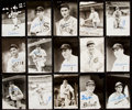 Autographs:Photos, Baseball Greats & Hall of Famers Signed Photograph Lot of 19.....