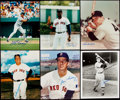 Autographs:Photos, Boston Red Sox Greats Signed Photograph Lot of 6. ...