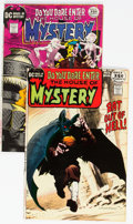 Silver Age (1956-1969):Horror, House of Mystery #194 and 195 Group (DC, 1971).... (Total: 2 ComicBooks)