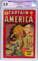 Captain America Comics #72 Trimmed (Timely, 1949) CGC Apparent GD/VG 3.0 Cream to off-white pages