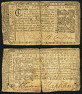 Colonial Notes:Maryland, Maryland March 1, 1770 $1/6 Fine;. Maryland March 1, 1770 $1/2 VeryGood-Fine.. ... (Total: 2 notes)