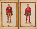 Hockey Collectibles:Others, 1928-32 La Presse Player Newspaper Premiums Hockey Collection (19). ...