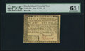 Colonial Notes:Rhode Island, Fully Signed Rhode Island July 2, 1780 $5 PMG Gem Uncirculated 65EPQ.. ...