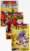 Silver Age (1956-1969):Horror, Tales of the Unexpected #58-60 Group (DC, 1961) Condition: AverageFN+.... (Total: 3 Comic Books)