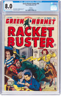 Golden Age (1938-1955):Crime, Green Hornet Comics #44 File Copy (Harvey, 1949) CGC VF 8.0 Light tan to off-white pages....
