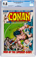 Bronze Age (1970-1979):Adventure, Conan the Barbarian #13 (Marvel, 1972) CGC NM/MT 9.8 Off-white to white pages....