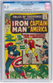 Tales of Suspense #60 (Marvel, 1964) CGC VF+ 8.5 Off-white to white pages