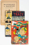 Golden Age (1938-1955):Miscellaneous, Incomplete Large Feature / Feature Book and Other Dell Group of 12 (Dell, 1936-55) Condition: Average PR.... (Total: 12 )