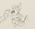 Animation Art:Production Drawing, Alpine Climbers Mickey Mouse Animation/Model Drawing (WaltDisney, 1936). ...