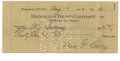 Autographs:Checks, 1933 Max Carey Signed Personal Check. Stellar example ofPittsburgh's star centerfielder Max Carey's signature resides ont...