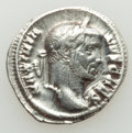 Ancients:Roman Imperial, Ancients: Galerius, as Caesar (AD 293-305). AR argenteus (17mm,3.24 gm, 12h). VF, scrapes....