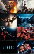"""Movie Posters:Science Fiction, Aliens (20th Century Fox, 1986). Deluxe Title Lobby Card & Deluxe Lobby Cards (7) (11"""" X 14""""). Science Fiction.. ... (Total: 8 Items)"""